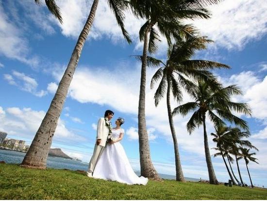 ビーチフォトウェディング,ハワイ