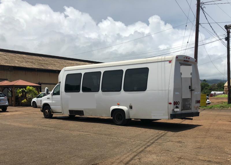 ハワイVIPツアー バス