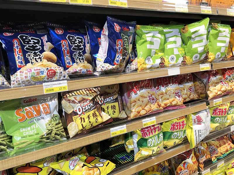 ワイキキの日本食品スーパーマーケット ミツワ