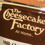 チースケーキファクトリーチョコレートお土産